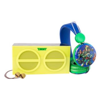 Teenage Mutant Ninja Turtles 3-Piece Stereo Speaker & Headphone Set by Sakar