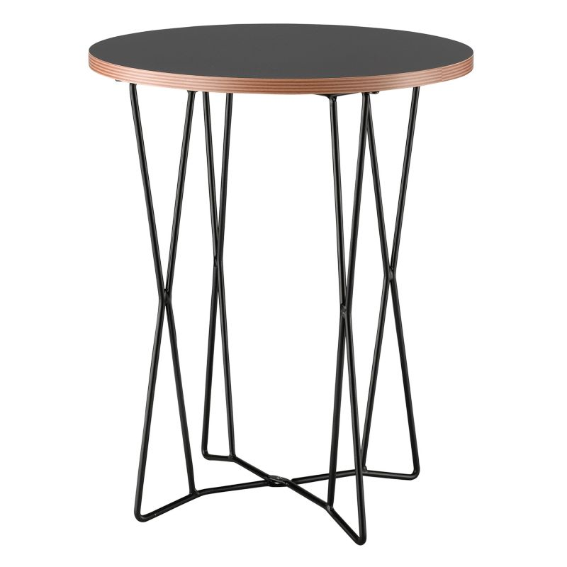 Adesso Network End Table, Black