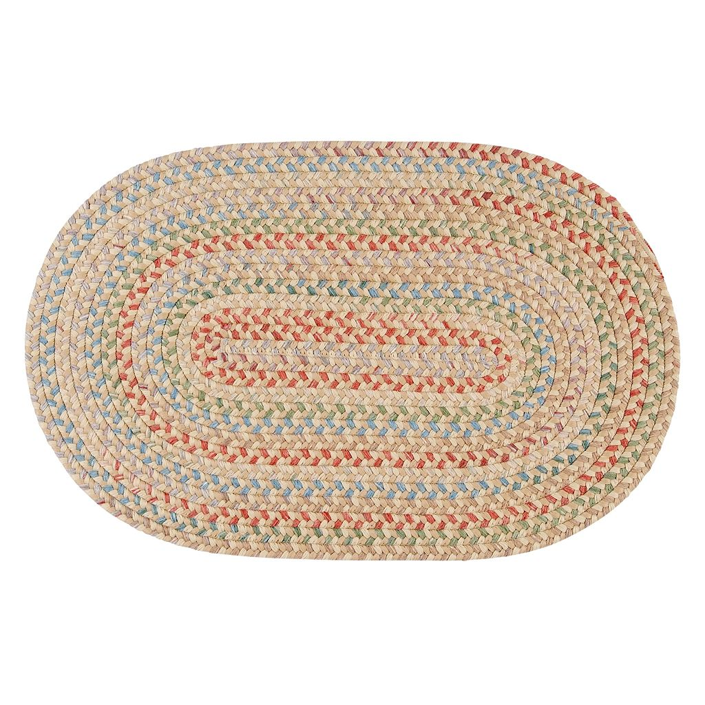 Colonial Mills Coral Gables Braided Reversible Rug