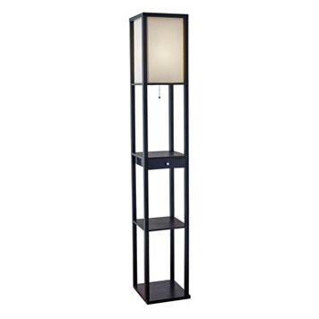 Adesso Parker Shelf Floor Lamp