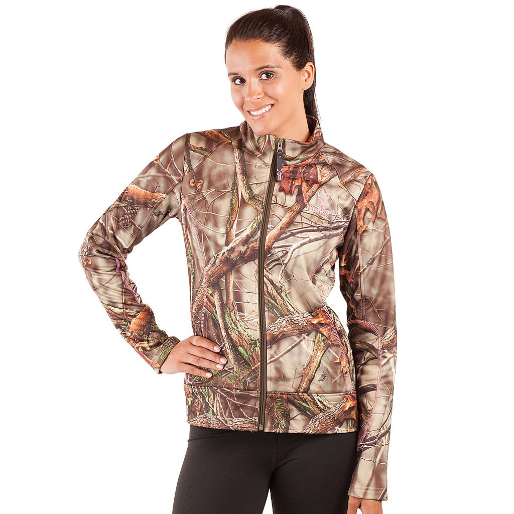 Women's Huntworth Camo Performance Fleece Hiking Jacket