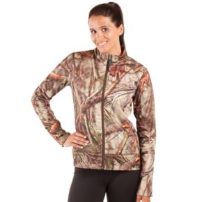 Women's Huntworth Camo Performance Fleece Hiking Jacket