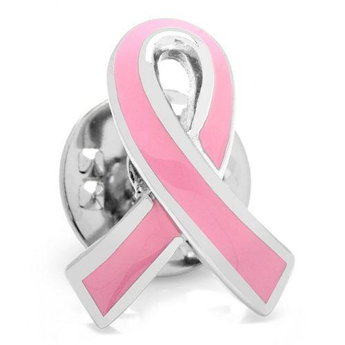 Pink Ribbon Cancer Awareness Lapel Pin