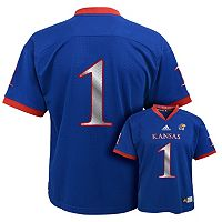Boys 4-7 adidas Kansas Jayhawks Replica Football Jerseyx