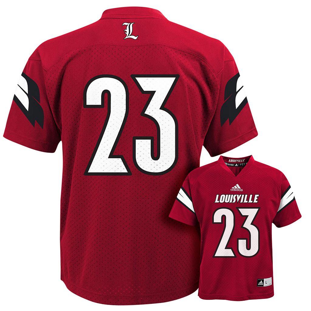 Boys 4-7 adidas Louisville Cardinals Replica Football Jerseyx