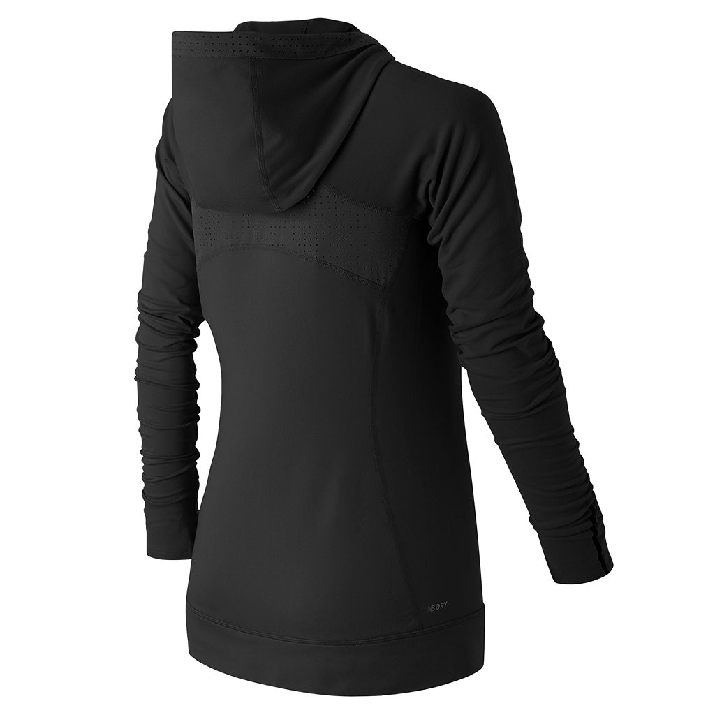 Women's New Balance Petal Perfect Half-Zip Workout Hoodie