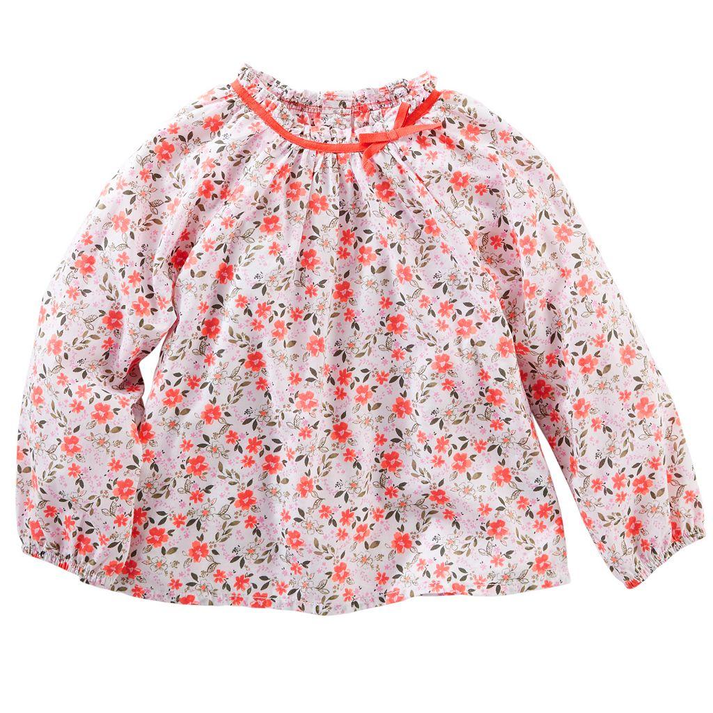 Toddler Girl OshKosh B'gosh® Floral Woven Top