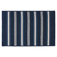 Colonial Mills Hunter Stripe Braided Reversible Rug