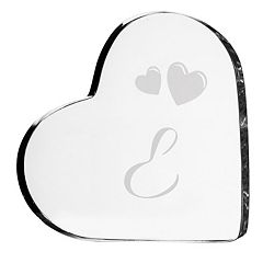 Cathy's Concepts Monogram Heart Wedding Cake Topper