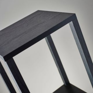 Adesso Lawrence Tall Pedestal End Table