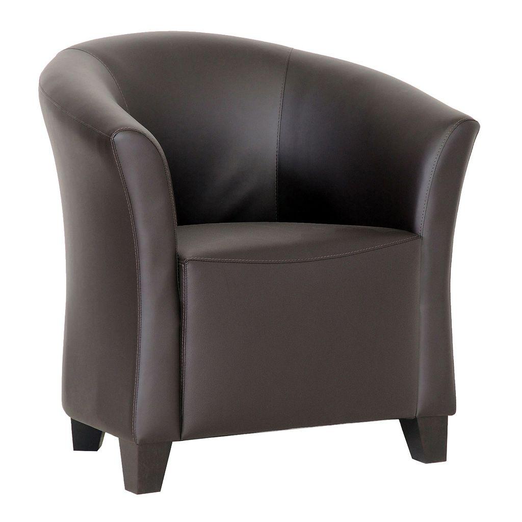 Baxton Studio Jackson Club Arm Chair