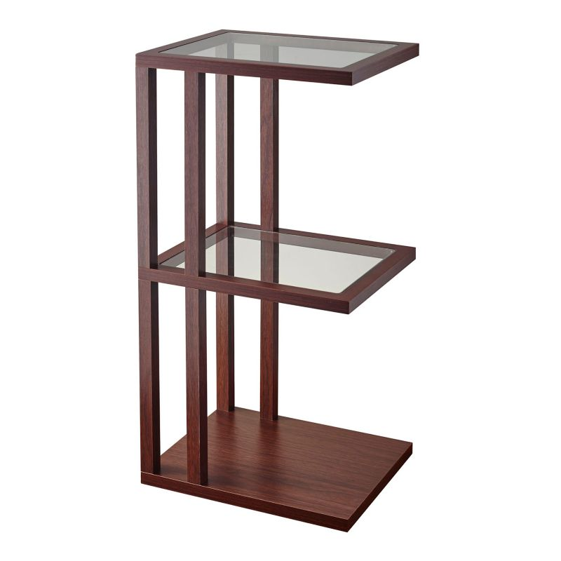 Adesso Baxter Tall End Table, Brown