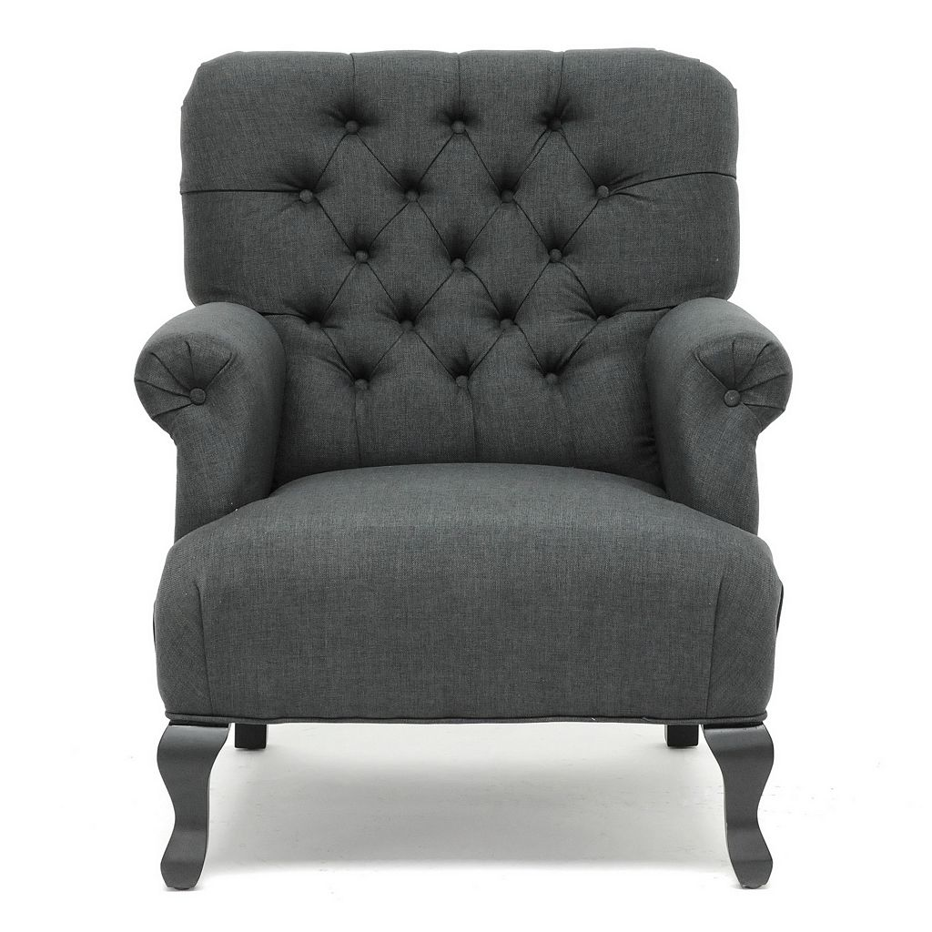 Baxton Studio Joussard Club Arm Chair