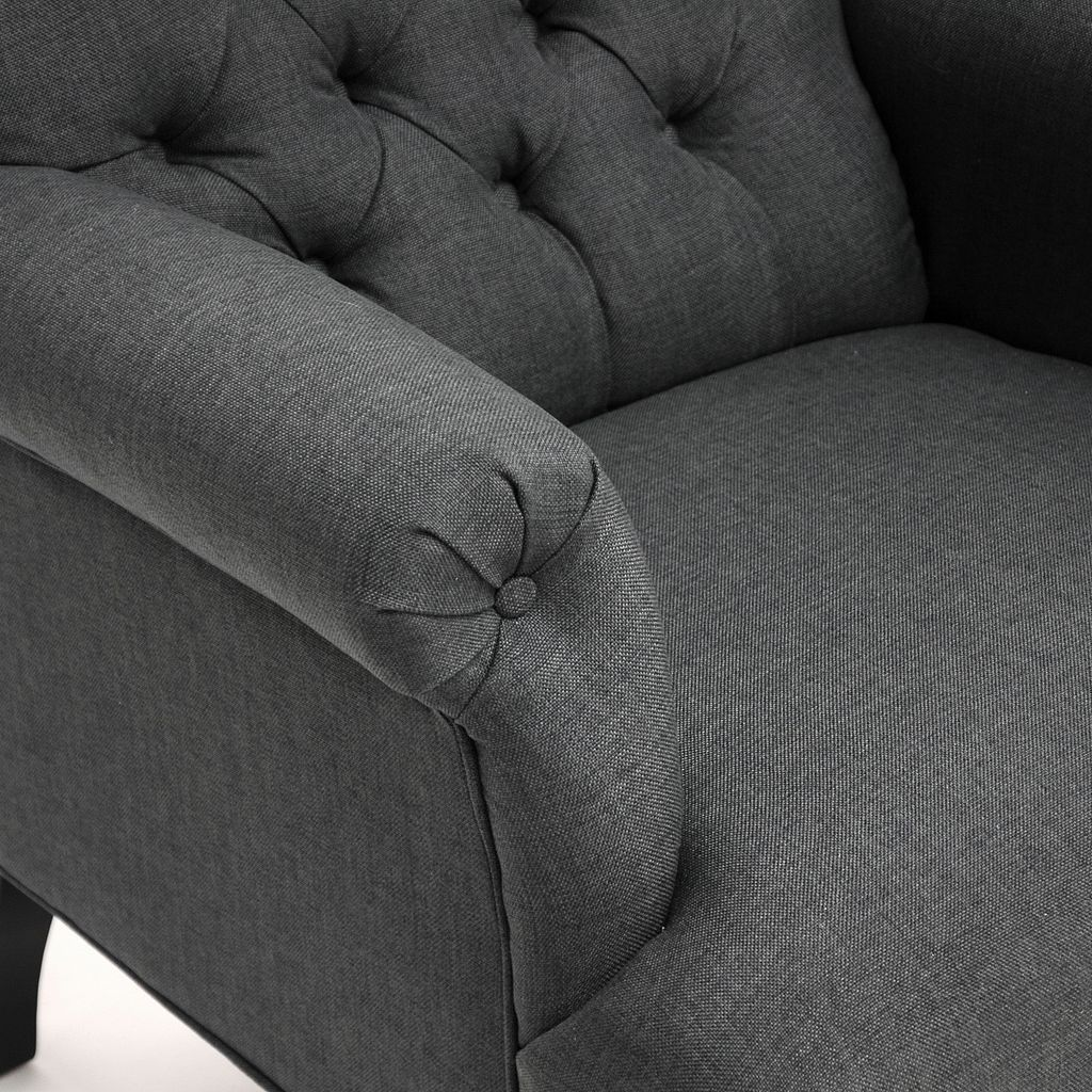Baxton Studio Joussard Club Arm Chair