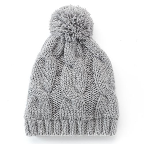 993d4252add7 SONOMA Goods for Life™ Cable-Knit Pom Beanie - Women