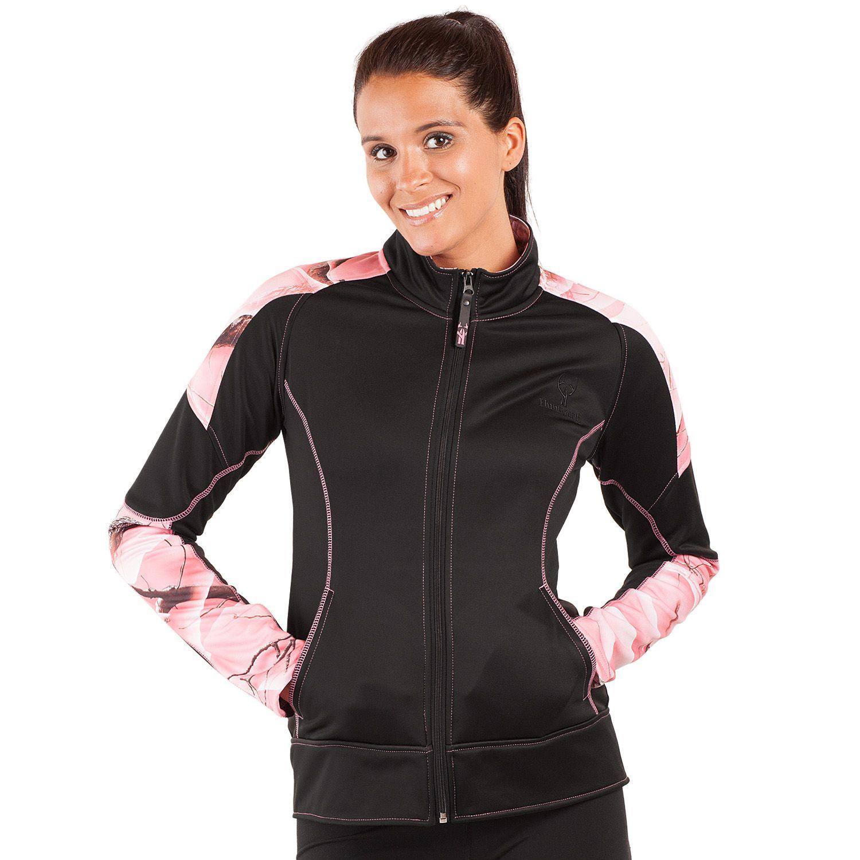Womens Huntworth Lifestyle Active Fleece Hiking Jacket