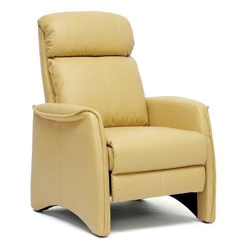 Baxton Studio Aberfeld Club Recliner Arm Chair