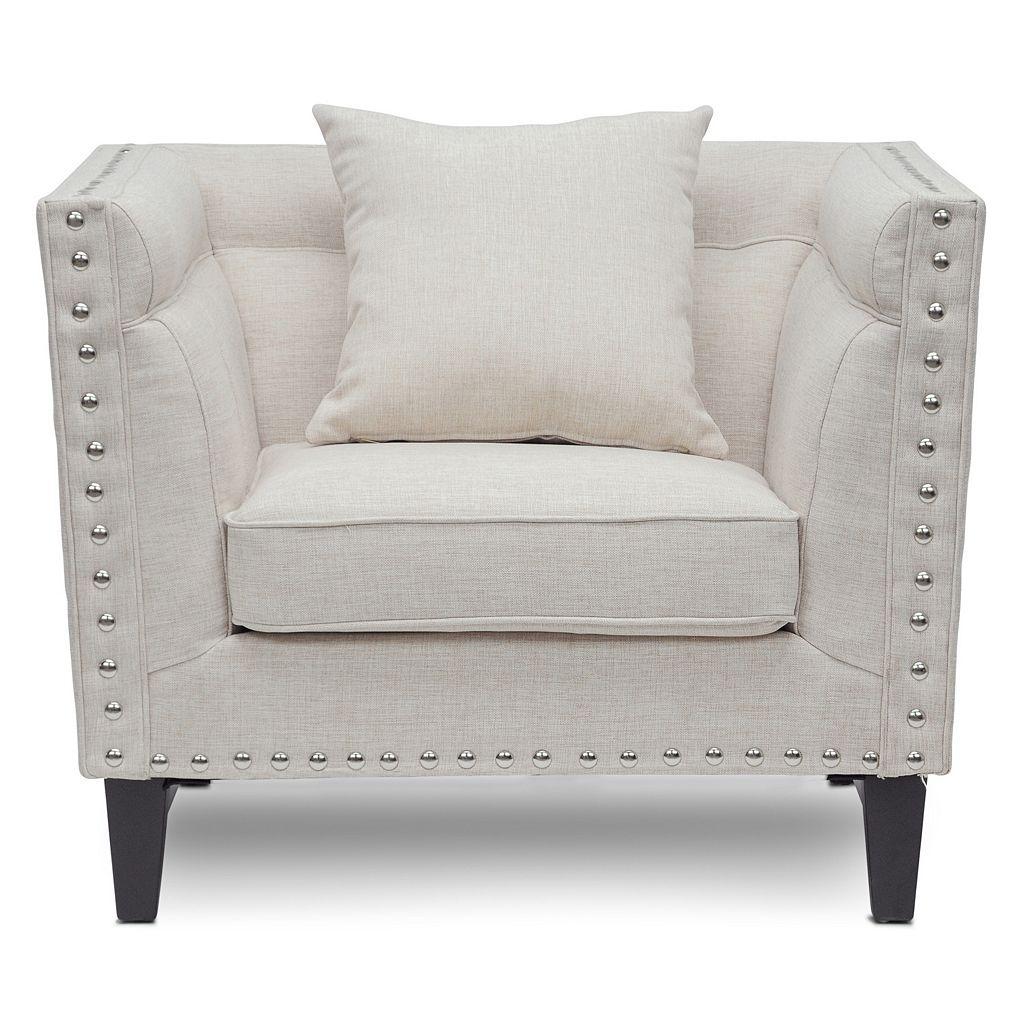 Baxton Studio Stapleton Modern Arm Chair