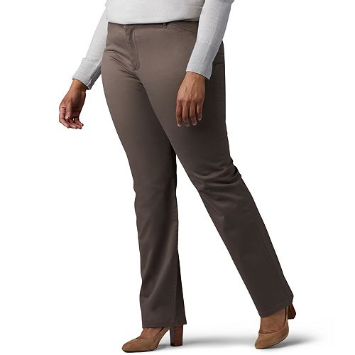 fb9237993a Plus Size Lee Relaxed Fit Straight-Leg Pants