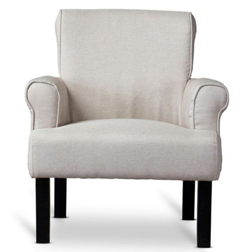 Baxton Studio Classics Collection Wing Chair