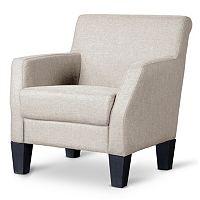 Baxton Studio Silhouettes Club Chair