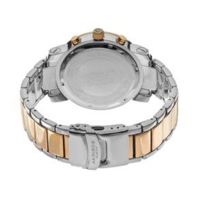 Akribos XXIV Men's Lux Diamond Stainless Steel Chronograph Watch