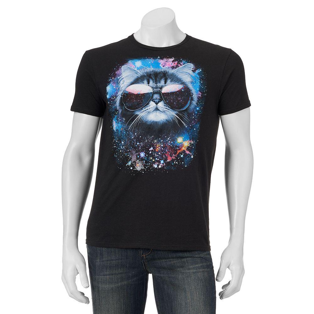 Black t shirts kohls - Men S Meowter Space Graphic Tee