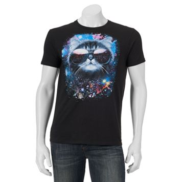 Men's Meowter Space Graphic Tee