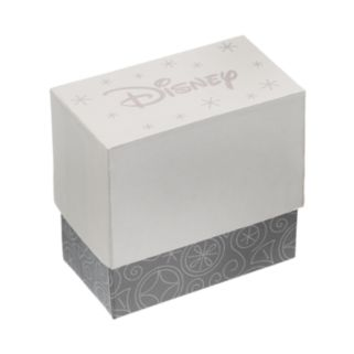 Disney's Minnie Mouse Crystal Charm Bangle Bracelet