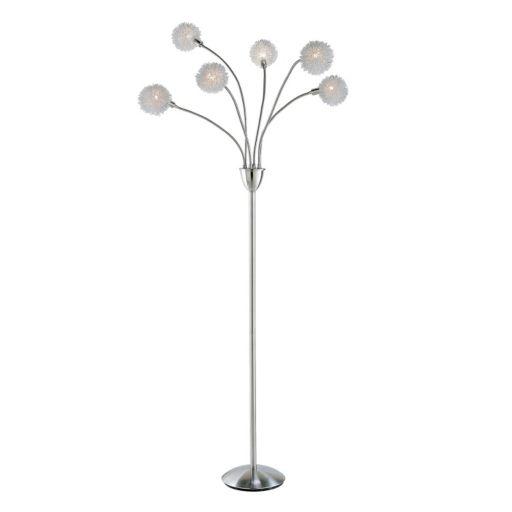 Adesso Pom Pom LED Floor Lamp