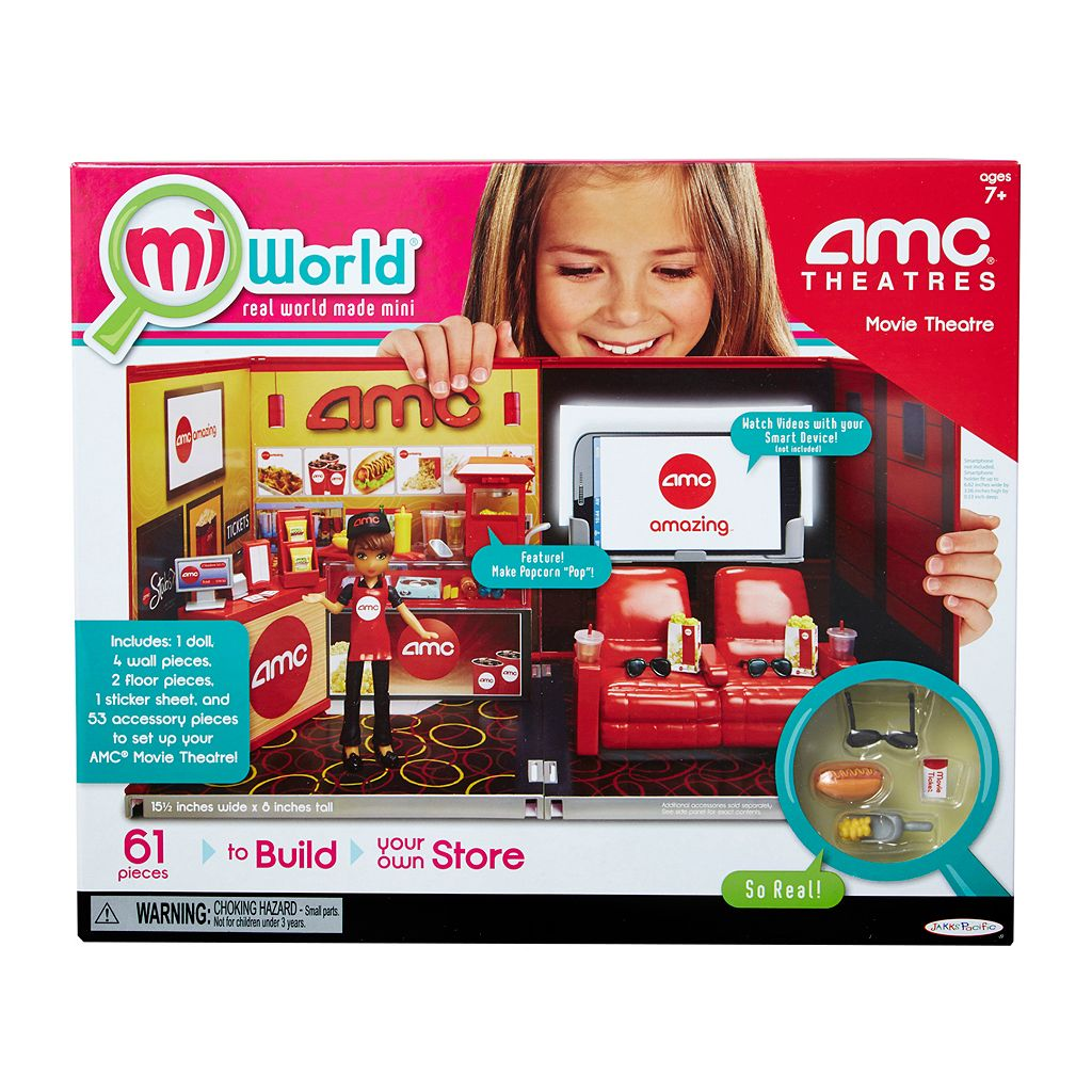 miWorld AMC Theatres Movie Theatre Starter Set