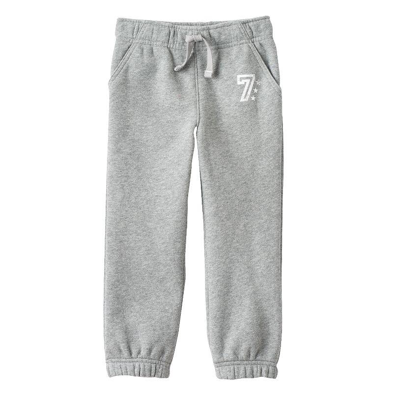 Jumping Beans® Athletic Fleece Pants - Toddler Boy