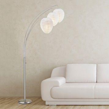 Adesso Belle Arc Floor Lamp