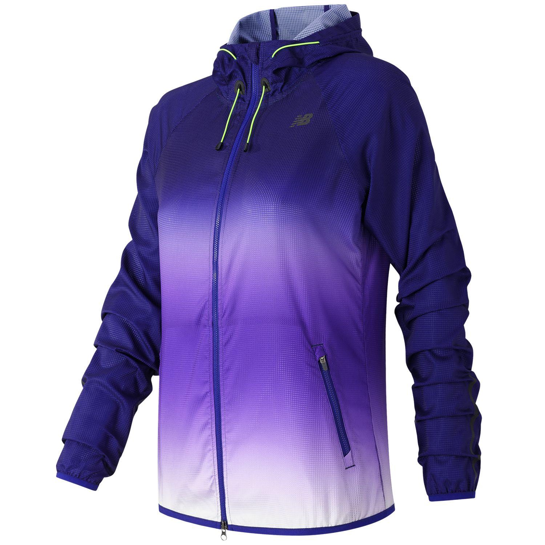 Womens New Balance Windcheater Hybrid Running Jacket