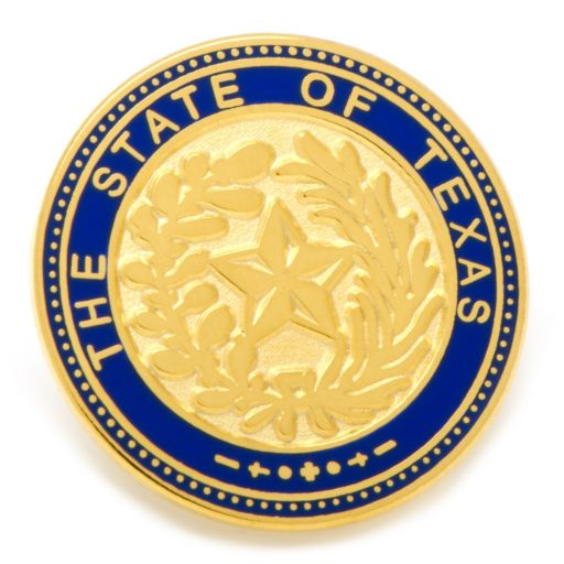 State of Texas Lapel Pin