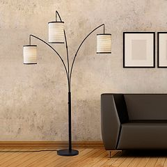 Adesso Bellows Arch Floor Lamp by