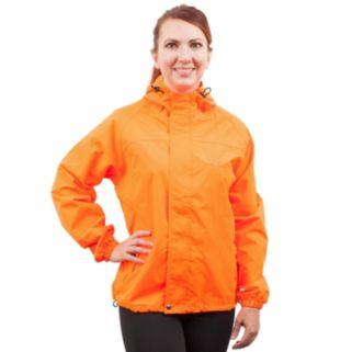 Women's Huntworth Blaze Orange Waterproof Microfiber Hunting Jacket