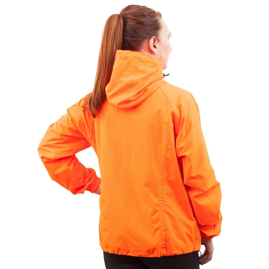 Women's Huntworth Blaze Orange Waterproof Microfiber Hunting Jacket