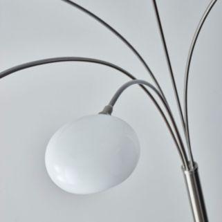 Adesso Luna Arc Floor Lamp