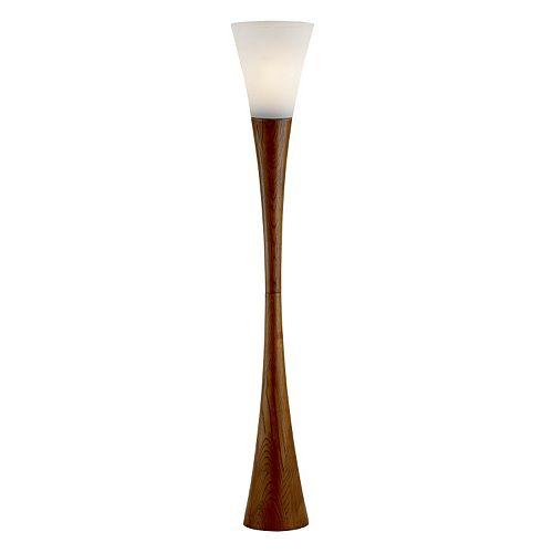 Adesso Espresso Floor Lamp