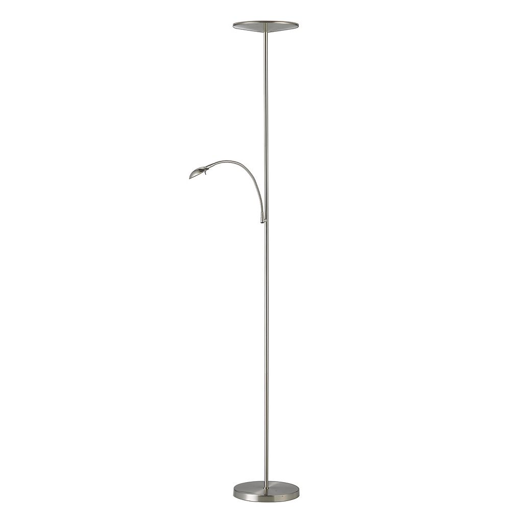 Adesso Pluto LED Combo Torchiere Floor Lamp