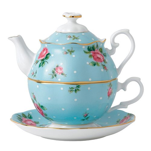 Royal Albert Tea for One 3-pc. Tea Set