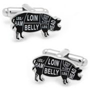 Pork Butcher Cut Cuff Links