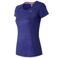 Women's New Balance NB Ice Crewneck Running Tee