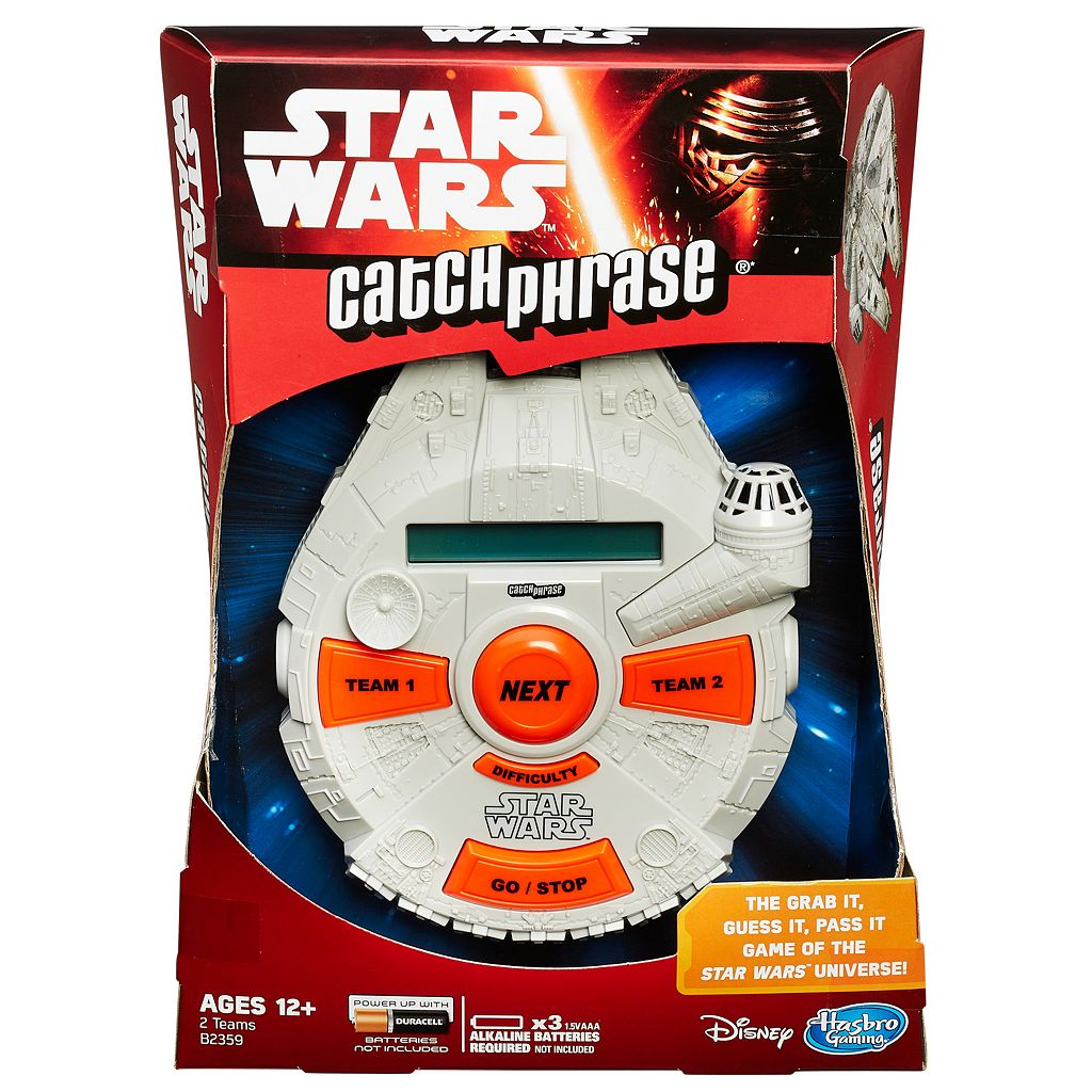 Star Wars: Episode VII The Force Awakens Catch Phrase Game by Hasbro