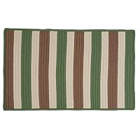 Colonial Mills Striped Delight Braided Reversible Indoor Outdoor Rug