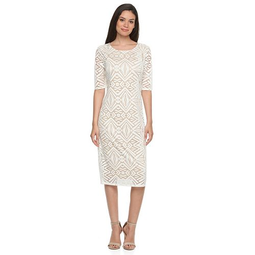 36dd997f Apt. 9® Burnout Sheath Dress - Women's