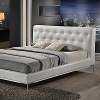 Baxton Studio Panchal Designer Bed - Queen