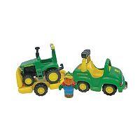 John Deere 1st Farming Fun, Tow N Go Hauler Playset