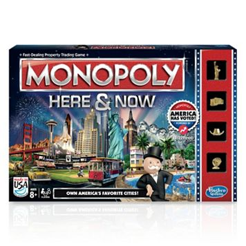 Monopoly Here & Now Game by Hasbro
